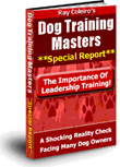 free dog training manual